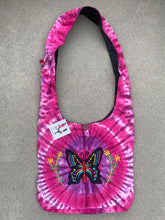 Load image into Gallery viewer, Tie Dye Hippie Hobo Bohemian Crossbody Butterfly Bag Purse