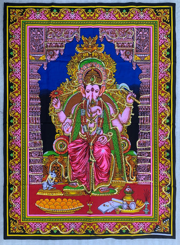 Ganesh Ganesha Yoga Tapestry Wall Hanging Decor 30