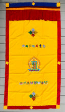 Load image into Gallery viewer, Tibetan Buddhist 8 Lucky Symbols Kalachakra Door Curtain wall hanging