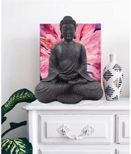 "Load image into Gallery viewer, Meditating Buddha Mindfulness Peace Harmony Statue 16"" Tall"