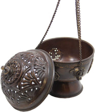 Load image into Gallery viewer, Tibetan Hanging Incense Burner - DharmaObjects