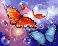Butterfly Diy Paint By Numbers Kits Uk PBN95233