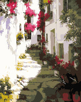 Landscape Street Diy Paint By Numbers Kits Uk WM882