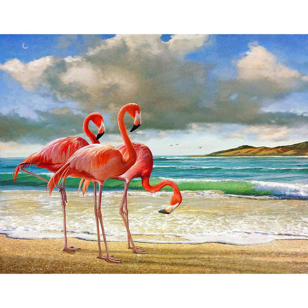Flamingos Diy Paint By Numbers Uk VM90390
