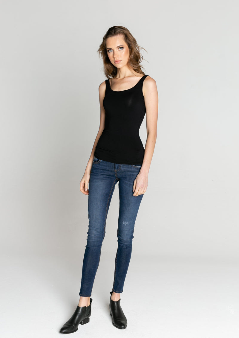Milan Scoop Neck Tank