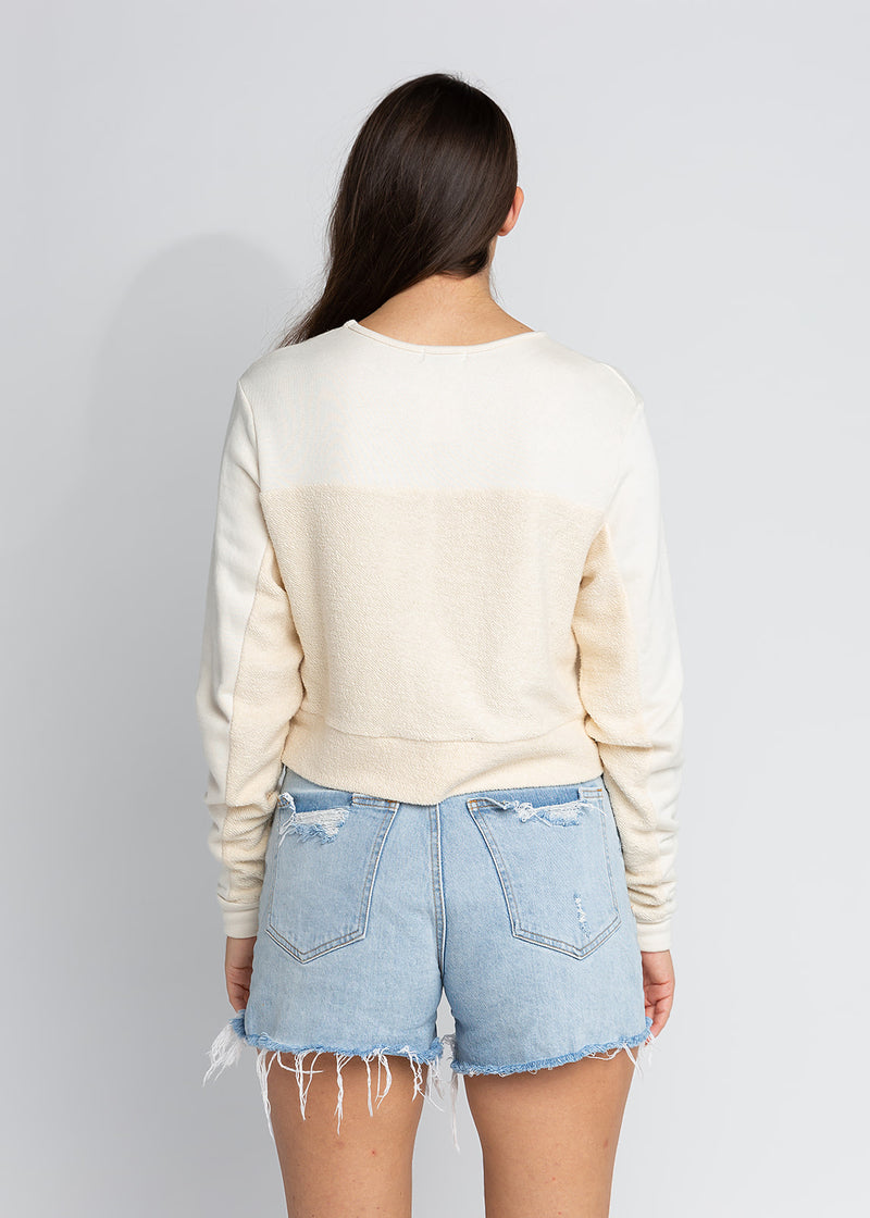 RHODES CROPPED SWEATSHIRT