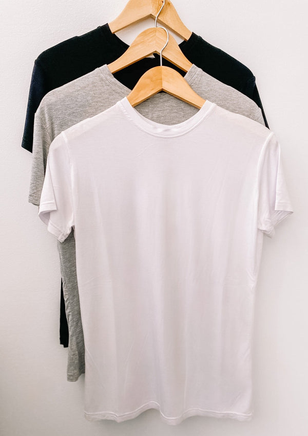 London Crew Neck Tee 3-Pack Bundle
