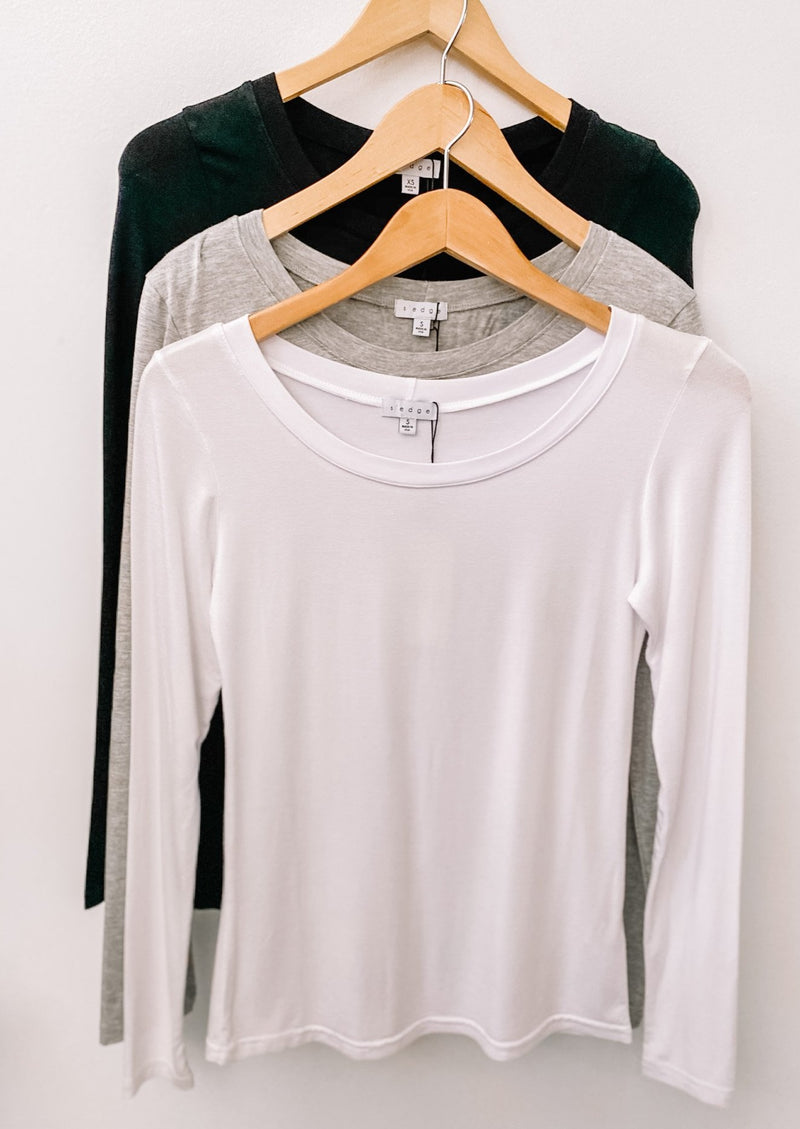FLORENCE LONG SLEEVE TEE 3-Pack Bundle