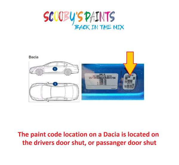 Dacia-Lodgy-Car-Paint-Code-Locations