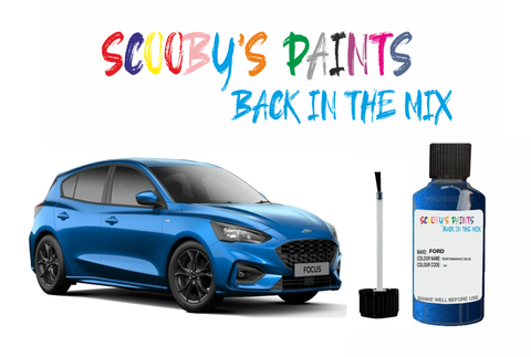 Ford Focus Car Touch Up Paint Scratch Repair Paint