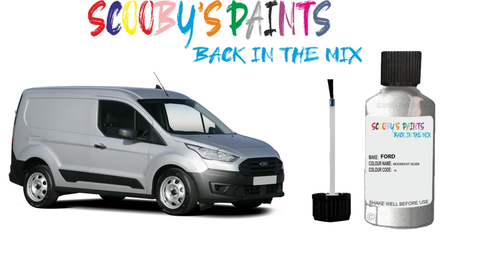 Ford transit connect touch up paints red blue green black silver white