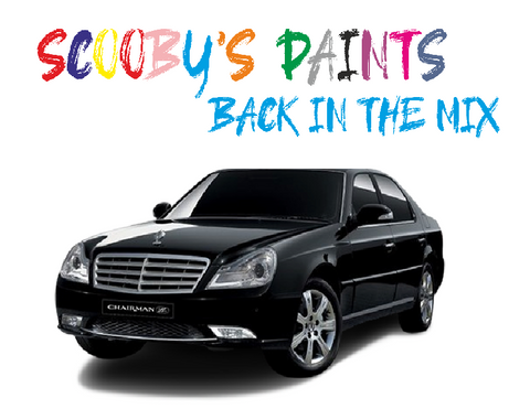 Ssangyong Chairman Touch Up Paints & Aerosol Spray paint
