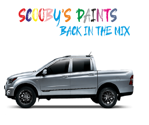 Ssangyong Musso Touch Up Paints & Aerosol Spray paint