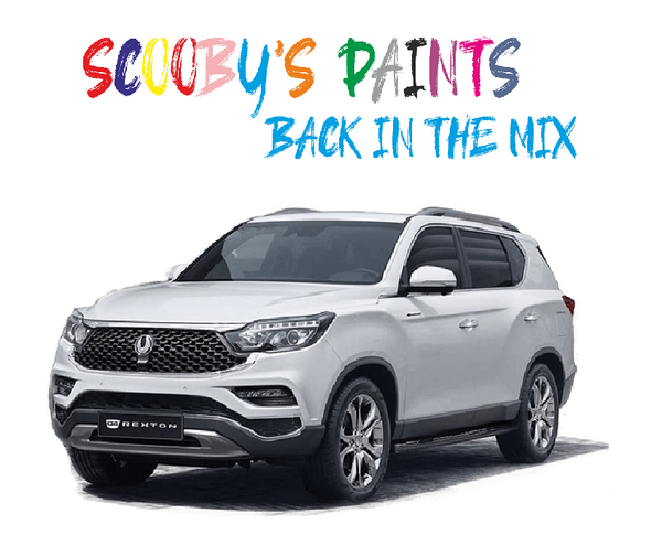 Ssangyong Rexton Sports Touch Up Paints & Aerosol Spray paint