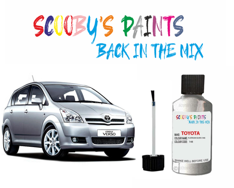 Toyota Avensis Verso Car Touch Up Paint Scratch repair kit