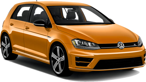 VW Golf Orange Gold Touch Up Paint colours effect special
