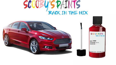 ford mondeo car touch up paint red blue green black silver