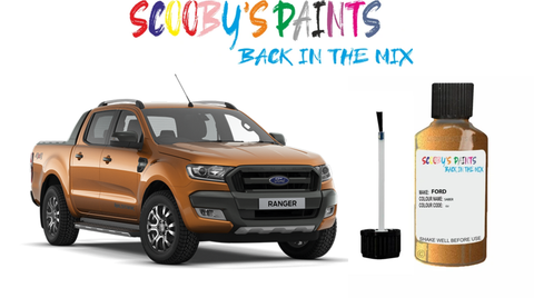 ford-ranger-red-blue-green-black-silver-touch-up-paint