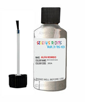 ALFA-ROMEO-CAR-Touch-Up-Paint-BIANCO-ARGENTO-SILVER