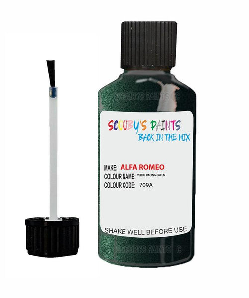 ALFA-ROMEO-CAR-Touch-Up-Paint-VERDE-RACING-GREEN