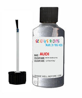 Audi A4 Akoya Silver Code Ly7H Touch Up Paint 2003-2010