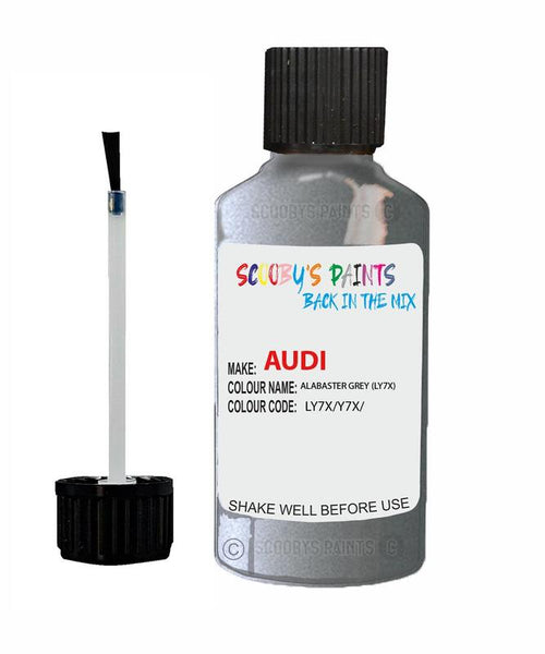 Audi A8 Alabaster Grey Code Ly7X Touch Up Paint 1998-2001