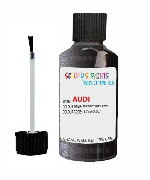 audi a8 amethyst grey code lz4v touch up paint 1990 2001 Scratch Stone Chip Repair