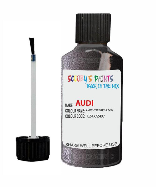 Audi A3 Sportback Amethyst Grey Code Lz4X Touch Up Paint 2007-2015