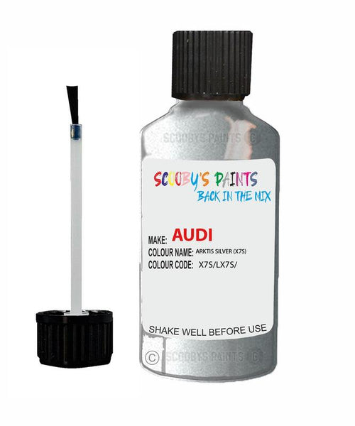 Audi A4 Arktic Silver Code X7S Touch Up Paint