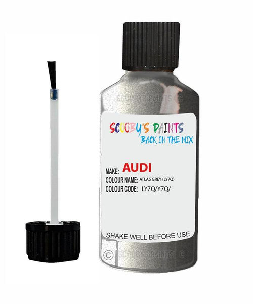 Audi A4/S4 Atlas Grey Code Ly7Q Touch Up Paint