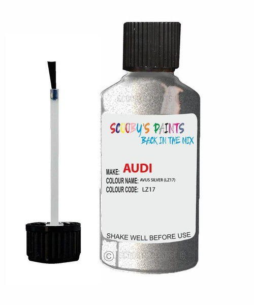 Audi A3 Avus Silver Code Lz17 Touch Up Paint 1996-2005