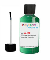 Audi A6 Cricket Green Code Lz6N Touch Up Paint 1994-2001