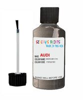 audi a4 allroad dakota grey code y1p touch up paint 2010 2016 Scratch Stone Chip Repair