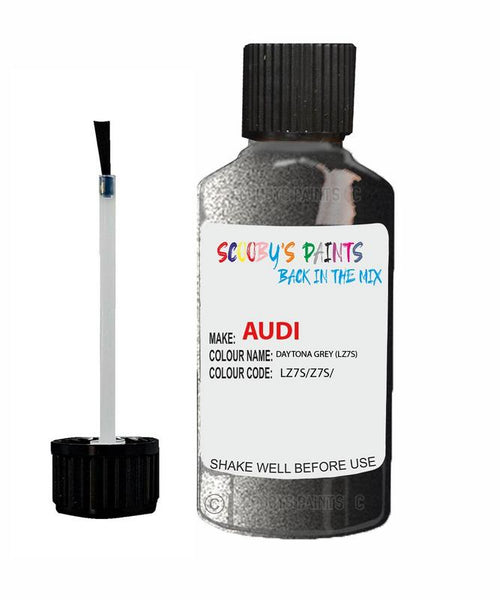 audi a6 daytona grey code lz7s touch up paint 2003 2018 Scratch Stone Chip Repair