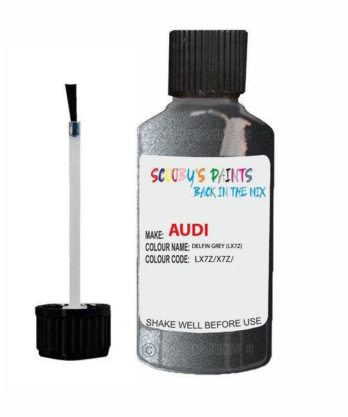 audi a4 cabrio delfin grey code lx7z touch up paint 2000 2013 Scratch Stone Chip Repair