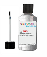 audi a3 cabrio eis silver code p5 touch up paint 2007 2017 Scratch Stone Chip Repair