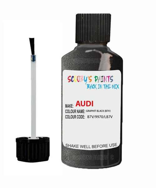 Audi A4 Graphit Black Code B7V/9970/Lb7V Touch Up Paint 1990-1990