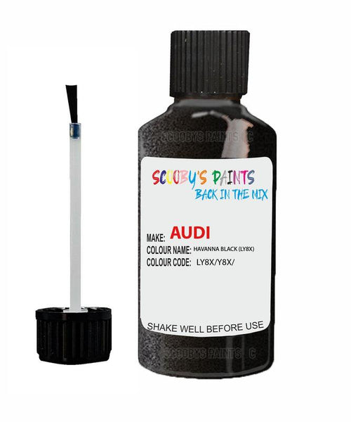audi a7 havanna black code ly8x touch up paint 2010 2017 Scratch Stone Chip Repair