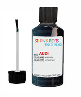 audi a6 indigo code lz5u touch up paint 1990 1996 Scratch Stone Chip Repair