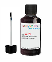 audi a6 kirsch black code lz9x touch up paint 2003 2010 Scratch Stone Chip Repair