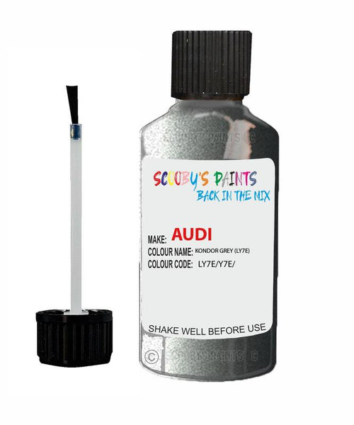 Audi A4 Kondor Grey Code Ly7E Touch Up Paint