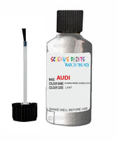 Audi A3 Le Mans Wheel Silver Code L1H7 Touch Up Paint