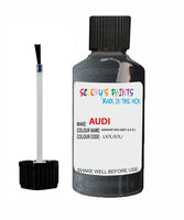 Audi A4 Allroad Quattro Manhattan Grey Code Lx7L Touch Up Paint 2015-2019