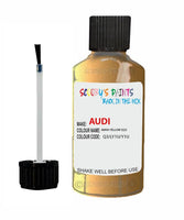 Audi A6 Maya Yellow Code Q3 Touch Up Paint 1997-2003