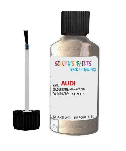 Audi A4/S4 Melange Code Ly1T Touch Up Paint 1998-2001