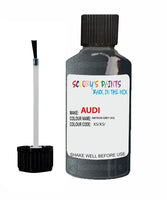 Audi A4 Allroad Quattro Meteor Grey Code X5 Touch Up Paint 2007-2014