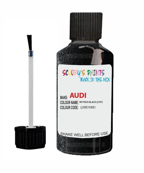 Audi A4 Mythos Black Code Ly9T Touch Up Paint