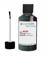 Audi A3 Nil Green Code Q7 Touch Up Paint 1990-1992