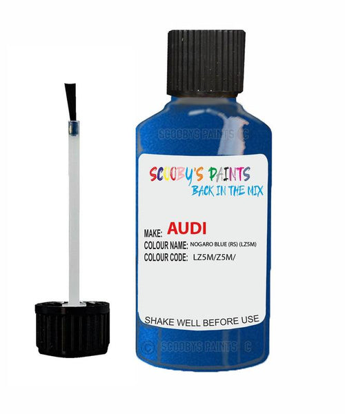 Audi A3/S3 Nogaro Blue (Rs) Code Lz5M Touch Up Paint 1994-2005