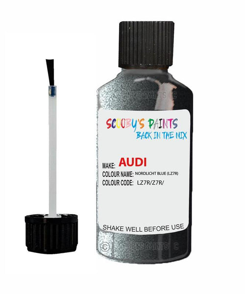 Audi A6 Allroad Quattro Nordlicht Blue Code Lz7R Touch Up Paint